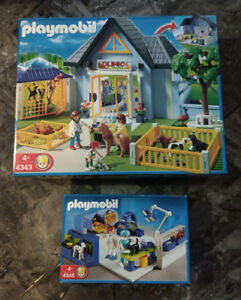 Playmobil Veterinarian sets 4343 and 4346 - Retired
