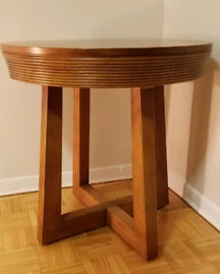 MID CENTURY WOOD TABLE