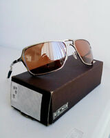 Sunglasses, Oakley Inmate polished chrome - like new
