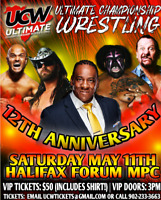UCW 12TH ANNIVERSAY SHOW FEATURING BOOKER T MAY 11TH HALIFAX MPC