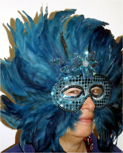Collection Mardi Gras masks $5 to $25 each or the lot $65.00