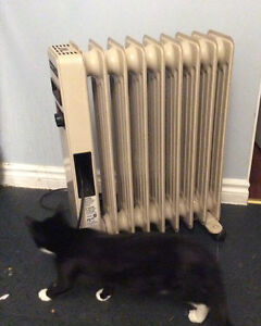 Oil filled radiator electric heater