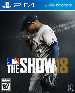 MLB The Show 18 PS4 in flawless as new condition