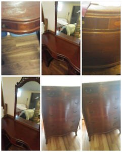 Antique 3 piece bedroom set