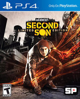 Brand New Sealed Copy of Infamous Second Son for PS4