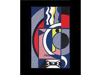 ROY LICHTENSTEIN - 'Modern Head 1' - vintage offset lithograph - c1969 (Warhol Int)