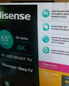 FlyTV - Hisense 55po HDR 4K SMART TV !