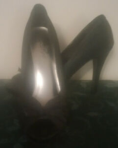 Used 'Club Couture' Black Dressy Shoes F/S