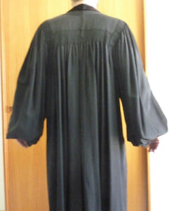 Black Judical or Academic Gown