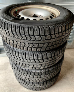 VW Rims & 215/65r16 Winter Tires $399