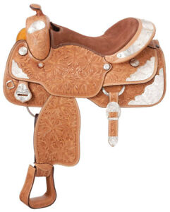 "12.5""inch Youth Western Show Saddle Silver Royal NEW"