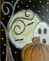 FALLOWEEN PASTA AND PAINT NIGHT