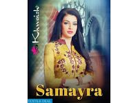 KHWAISH SAMAYRA WHOLESALE EMBROIDERED DRESS MATERIAL ON TEXTILEDEAL.IN