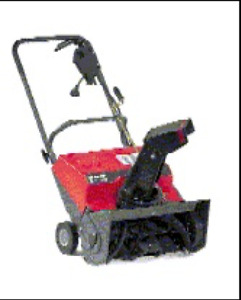 """Brand New 20"""" Craftsman Single Stage Electric Snowthrower"""