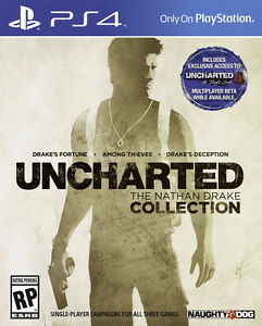 UNCHARTED SERIES 1-4 PS4