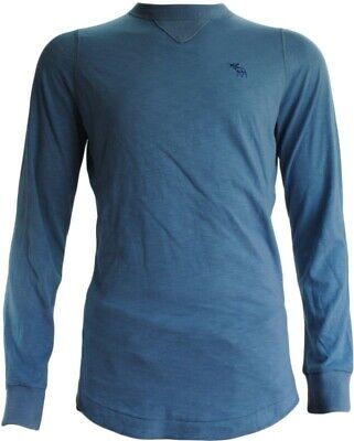 Abercrombie & Fitch Blue Sweatshirt (BNWT RRP £39.99 (Small -- pid819))