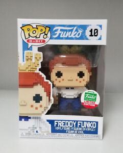 Funko Pop Vinyl 8-Bit Funko Shop Exclusive Freddy Funko