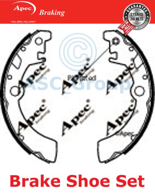 Apec Braking Replacement 180mm x 26mm Drum Brake Shoes Set SHU571