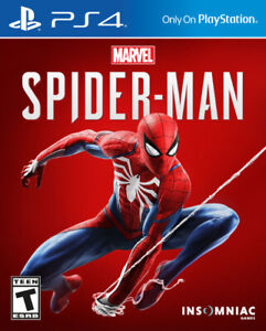 Spiderman PS4 MINT CONDITION