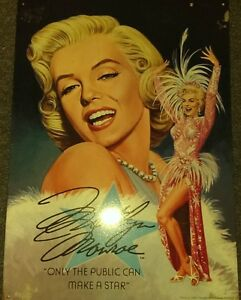 Marilyn Monroe - Large Metal sign - Licensed, 1995 - Vintage London Ontario image 2