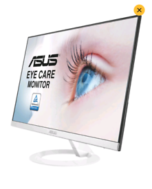 Asus VZ239HE-W Monitor 23inch