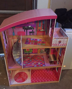 Huge Barbie lot and Doll house