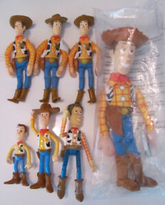 Vintage Toy Story WOODY Collection