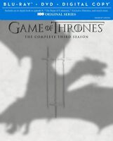 game of thrones seasons 1,2 and 3 on blu ray