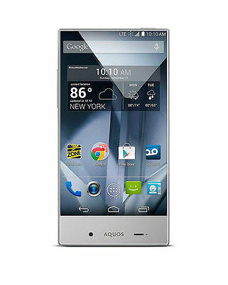 Sharp Aquos Crystal 306Sh  Black  Sprint  Android Smartphone   Clean Esn
