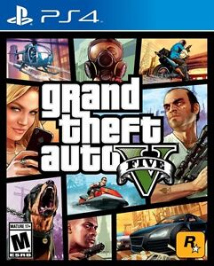 Brand New Sealed GTA V Grand Theft Auto 5 for PS4 Play Station 4