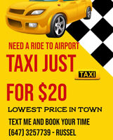Transfer to Airport (Need a ride?)