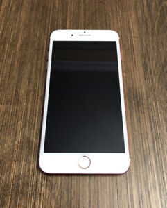 IPHONE 7 PLUS 32GB ROSE GOLD EN BON ÉTAT! DEBLOQUÉ/UNLOCK