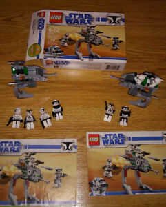 Used LEGO set 8014 Star Wars Clone Walker Battle Pack New Price!