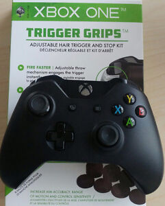 Xbox One Controller + trigger grips / toppers
