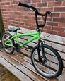 BMX Apollo Trax bike green