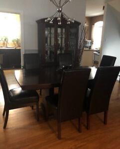 Table de cuisine 6 chaises