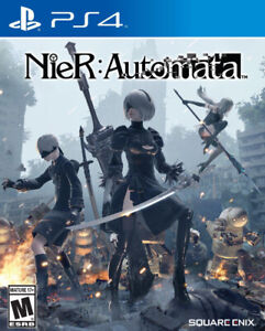 PS4 games mint condition in case. Neir automata and watch dogs 2
