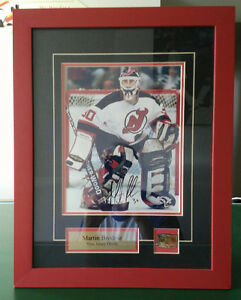 Martin Brodeur autographed photo