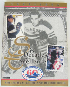 Official Guide & Register for the 1995-96 AMERICAN HOCKEY LEAGUE