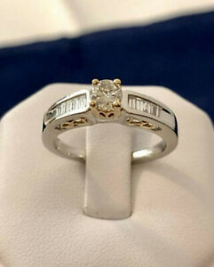 Platinum crafted Diamond Engagement Ring *Appraised at $7,600