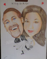 Caricature Artist Available.for Parties and Events..