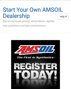 Become an Amsoil Independent Dealer
