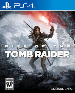 PS4- RISE OF THE TOMB RAIDER