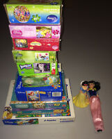Huge LOT of Puzzels - Snow White and the Seven Dearfs