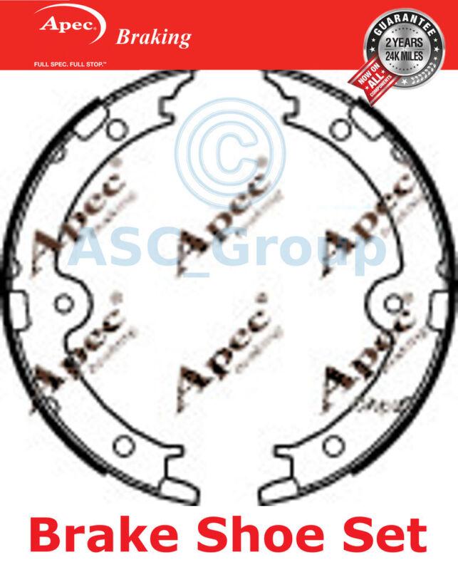 Apec Braking Replacement 190mm x 26mm Drum Brake Shoes Set SHU755