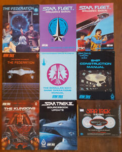 STAR TREK FASA RPG 1983-1987