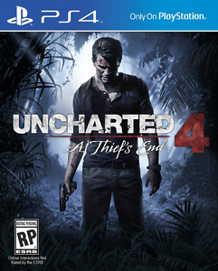 Unchareted 4 - PS4 game