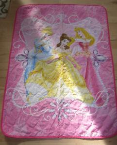 Disney Princesses quilted blanket