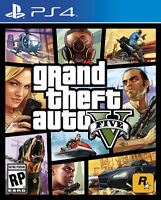 Looking for GTA V for PS4 in Mint Condition. Can Pickup