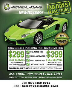 Posting for Car Dealers - 30 day Trial